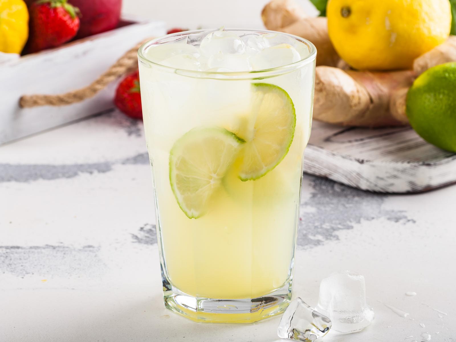 Фирменный лимонад имбирный