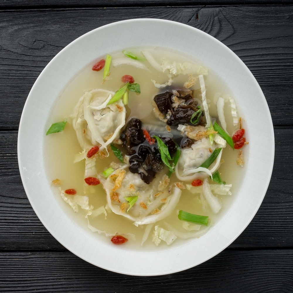 Вонтон суп