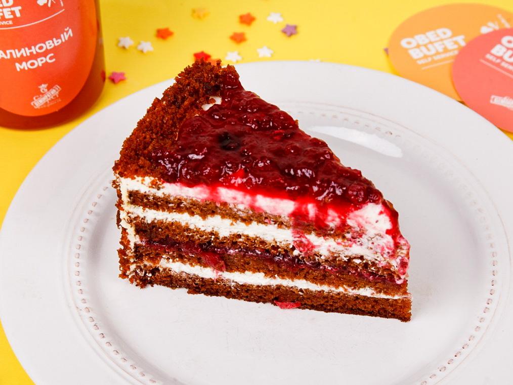Торт Медово-брусничный