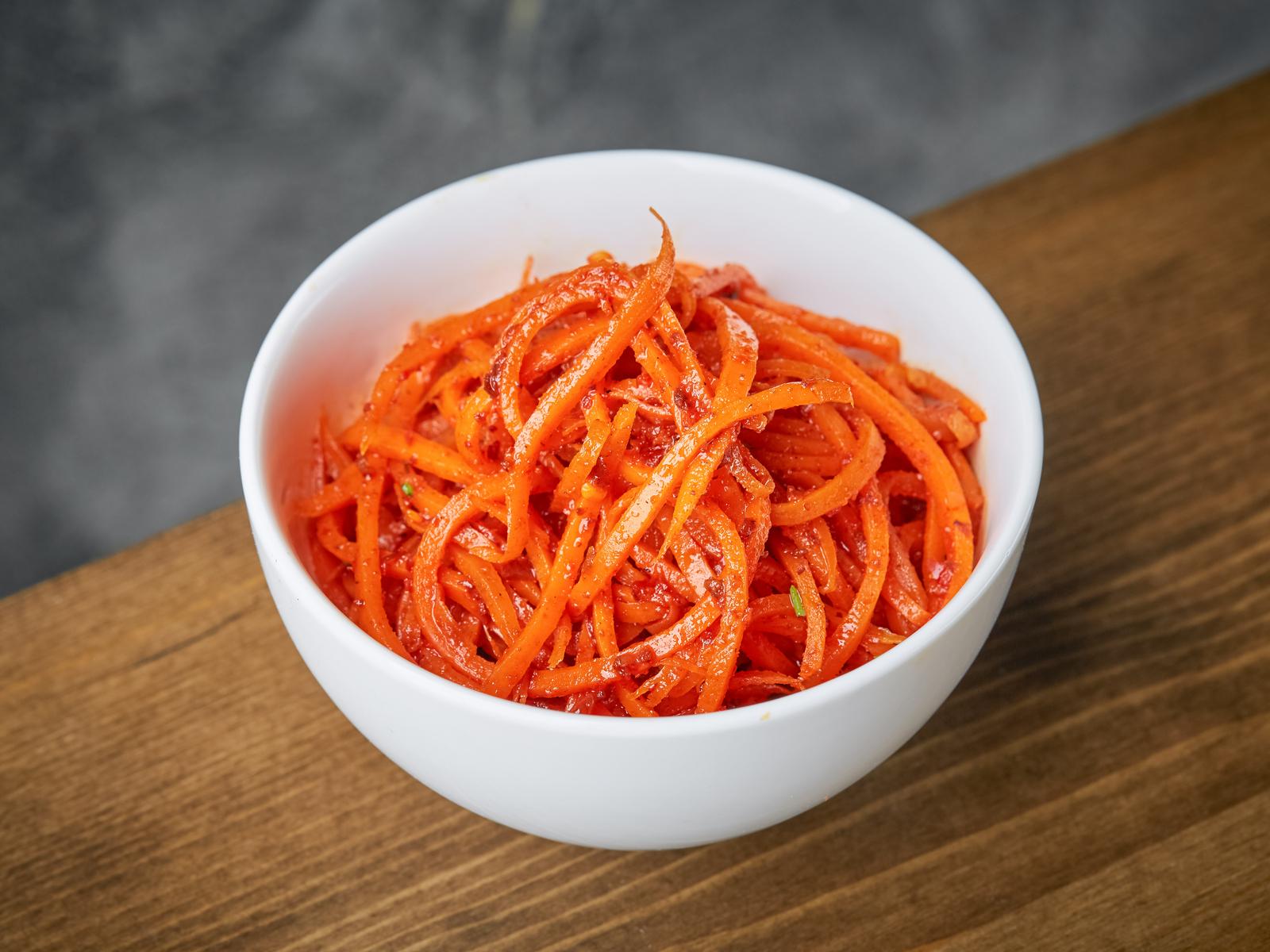Салат Морковь Ча
