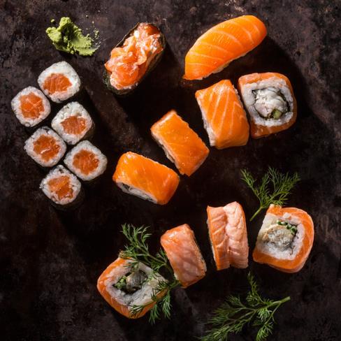Сет для любителей лосося