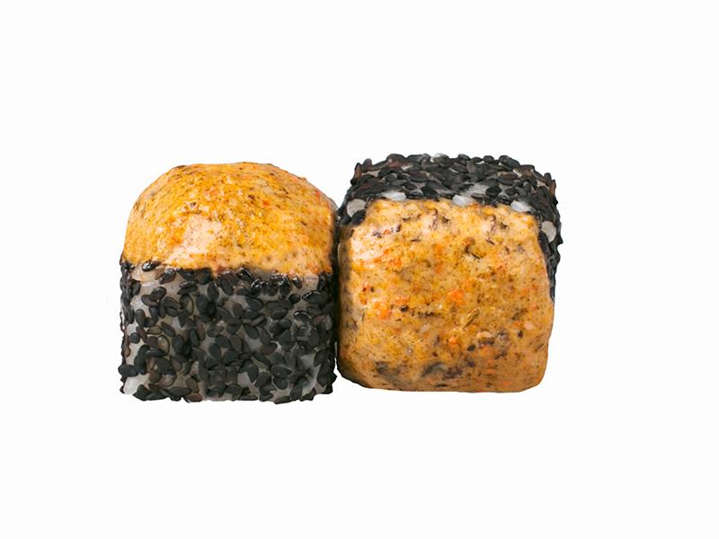Ролл Запеченные мидии со спайси-креветкой