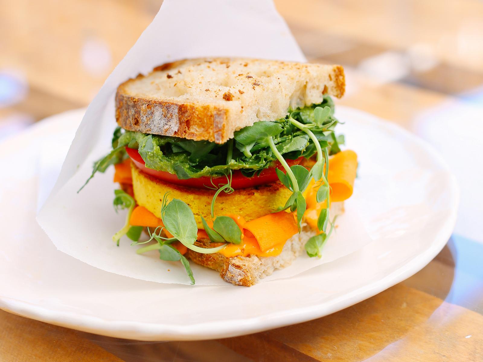 Сэндвич Тофу