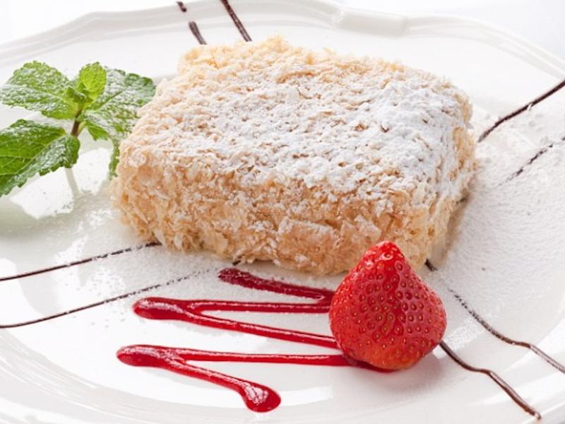 Торт Яблочный Наполеон