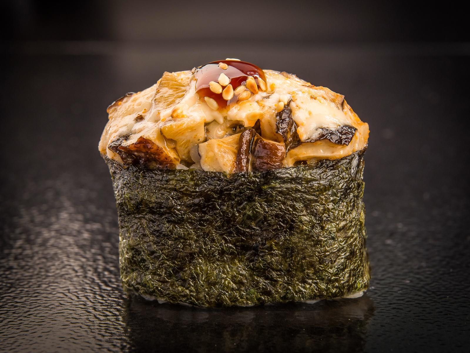 Суши запеченные с шиитаке