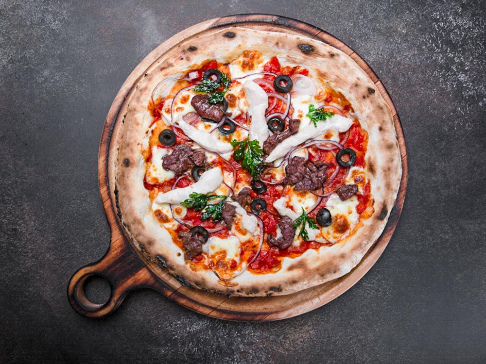 Пицца Два мяса