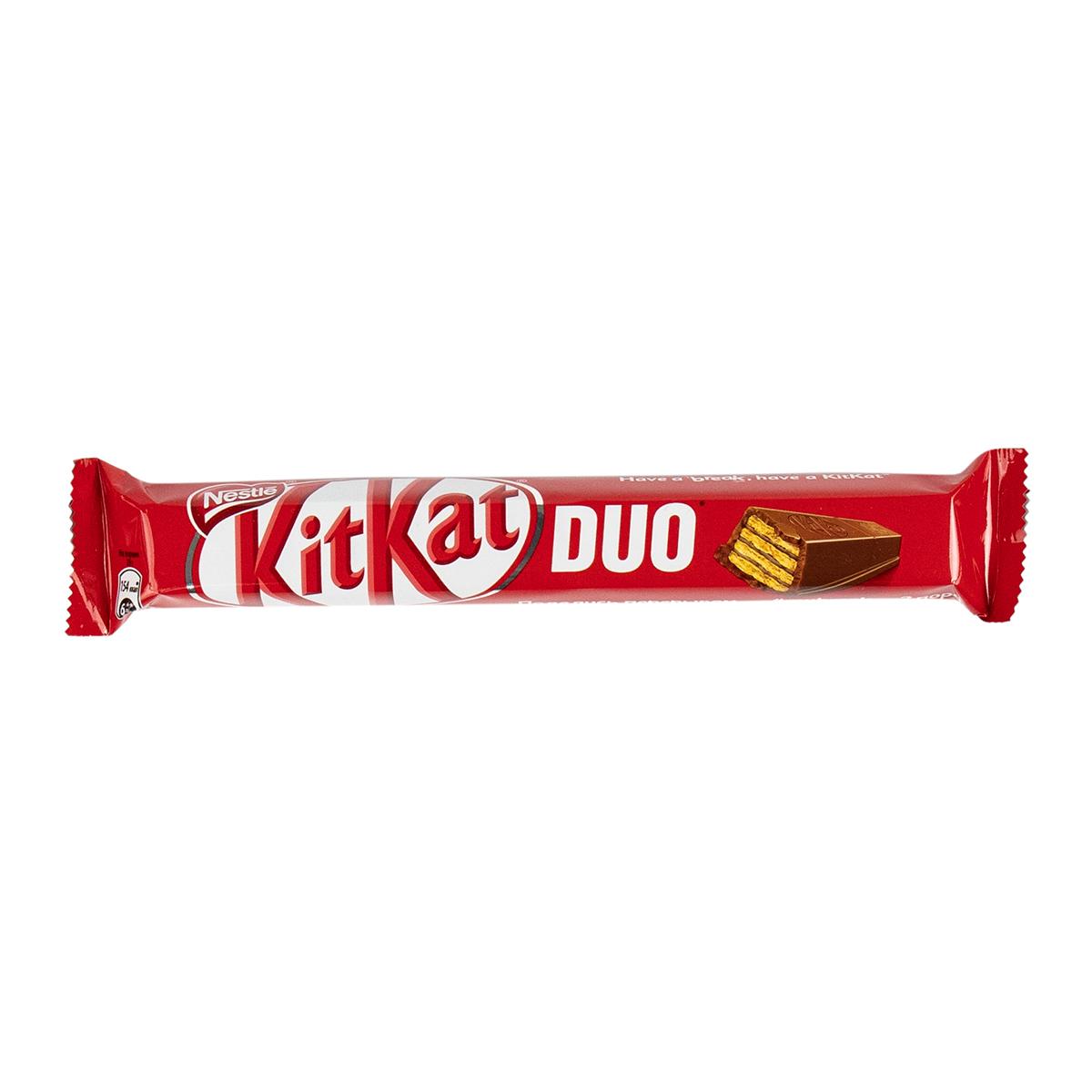 KitKat Duo хрустящая вафля