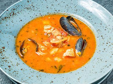 Рыбный суп Марсель