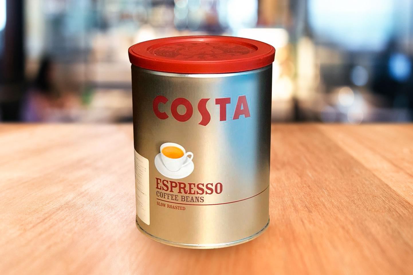 Кофе в банке в зернах