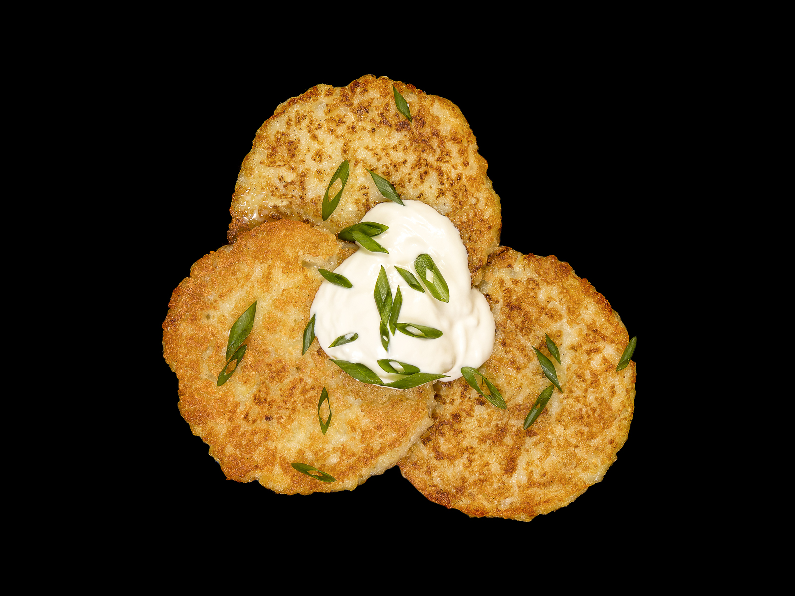 Веганские драники картофельные