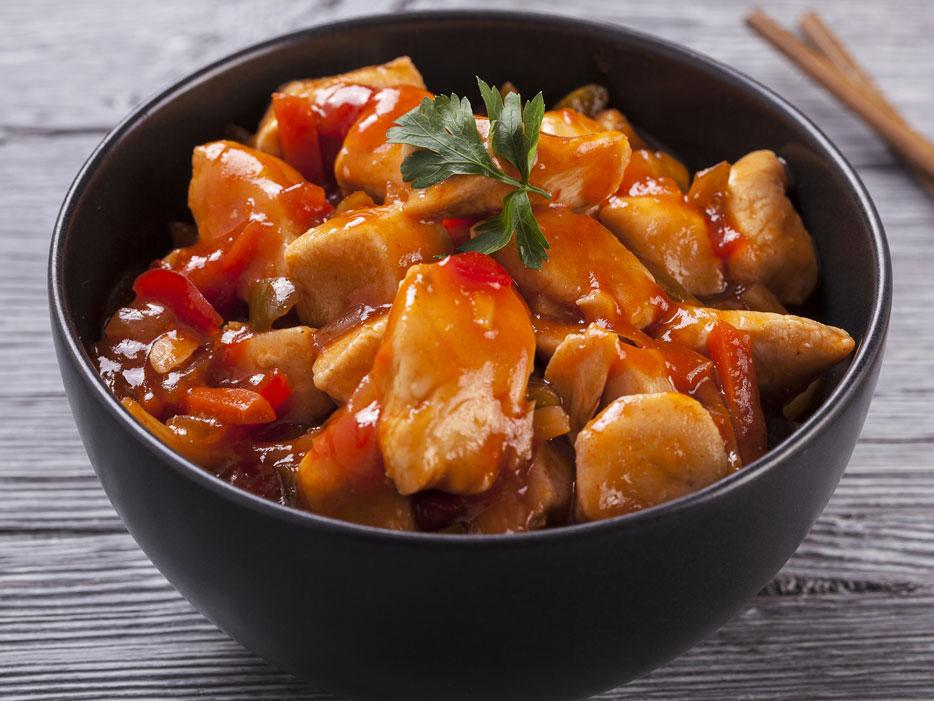 Курица под соусом Тамаринда