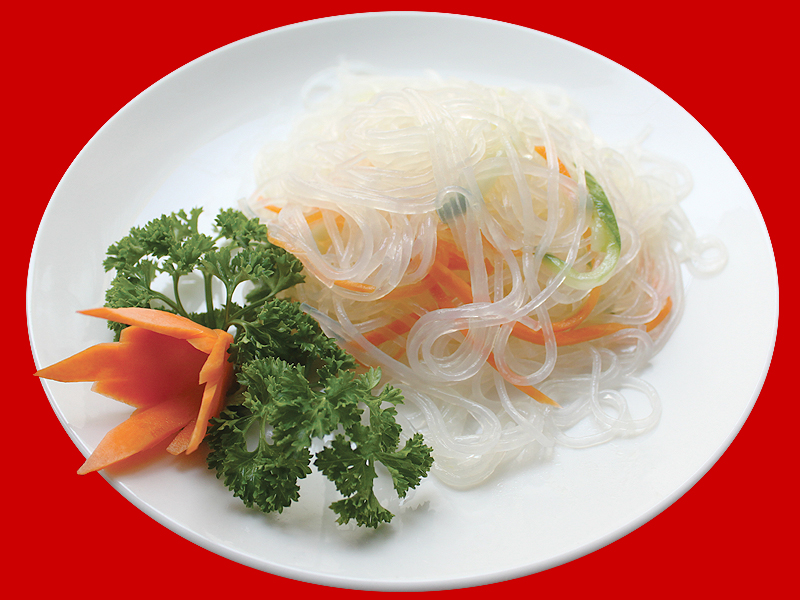Салат из соевой лапши