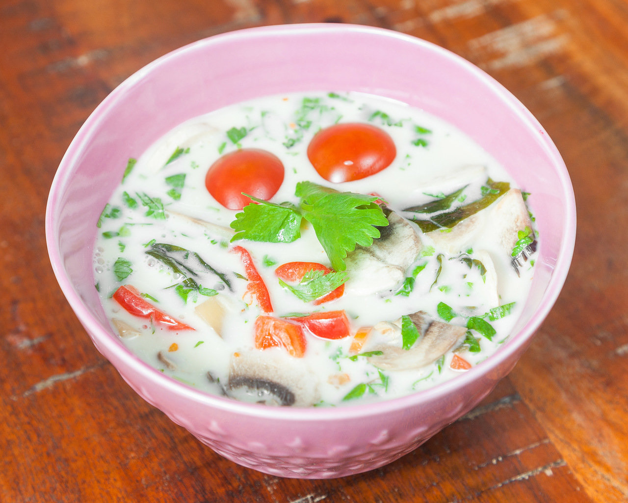 Суп Азиатский  сыроедческий