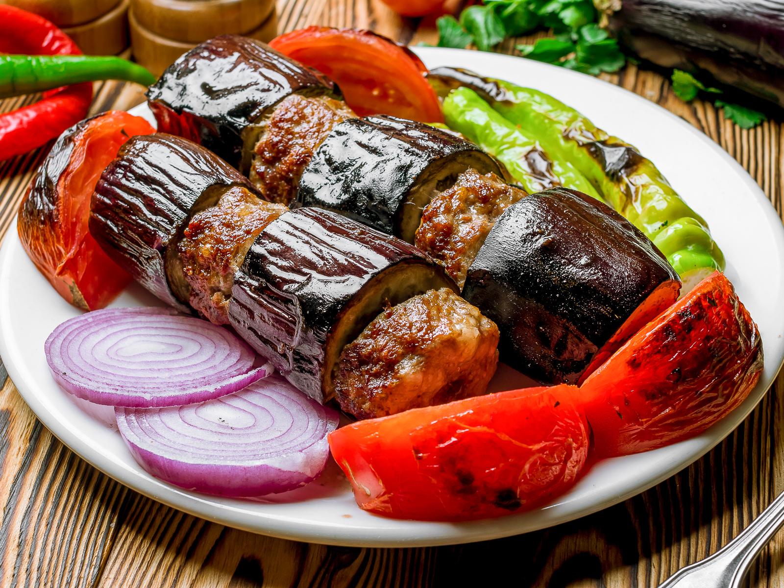 Баклажан-кебаб