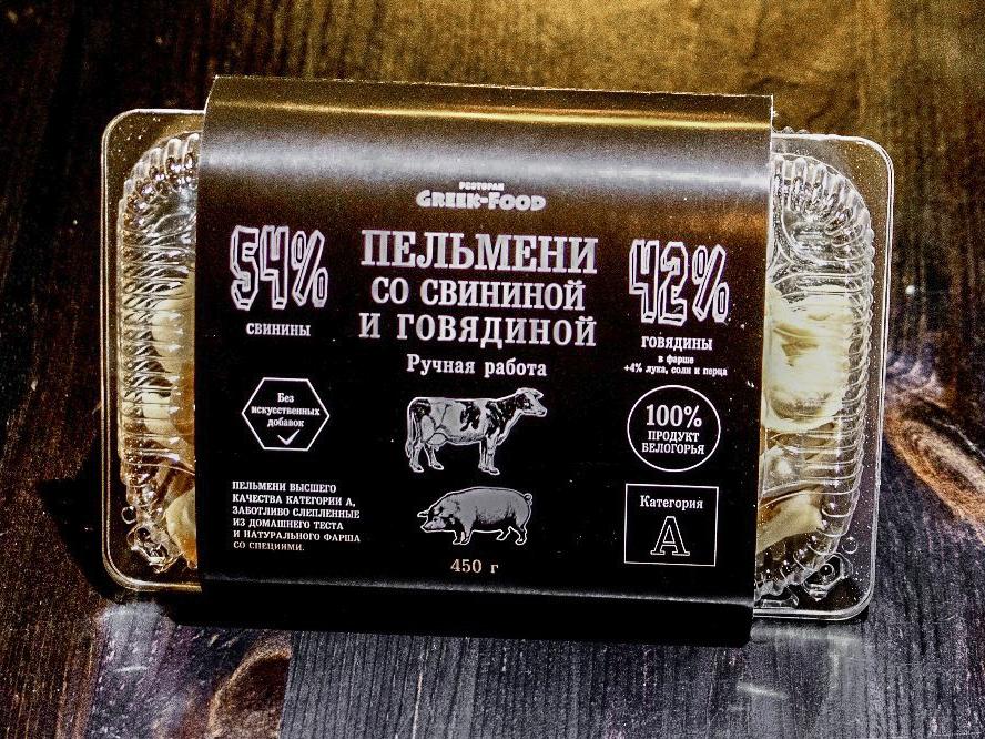 Пельмени-полуфабрикат Грик Фуд