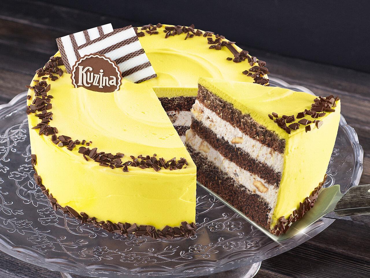 Торт Шоколадный с бананом