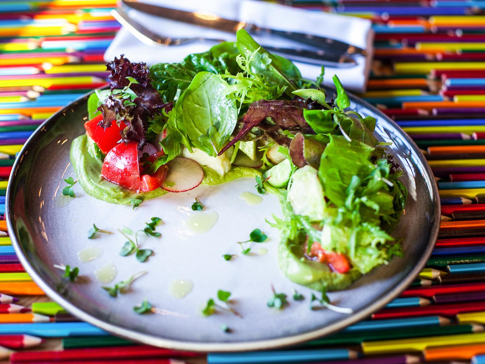 Салат Овощной с гуакамоле
