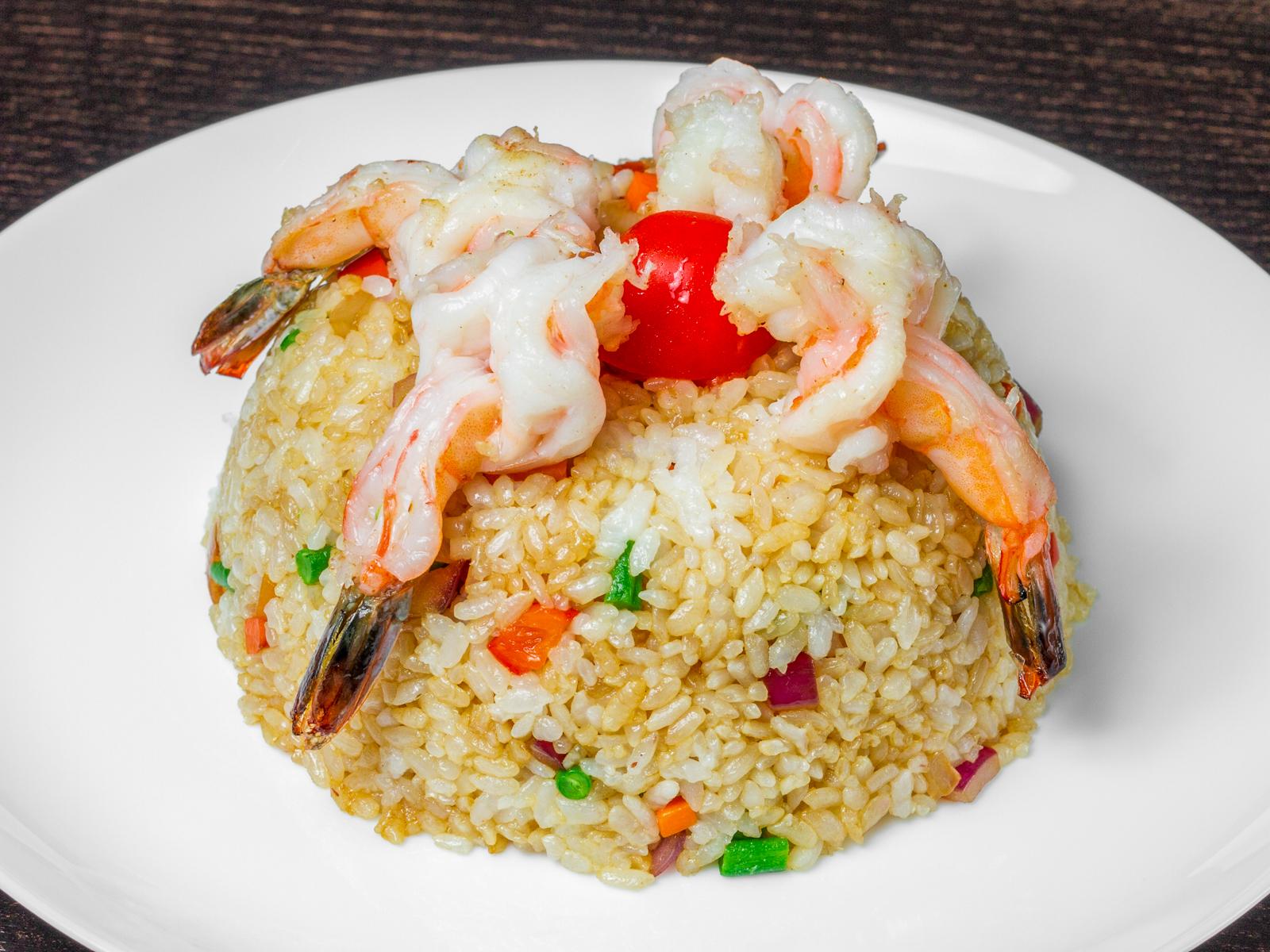 Китайский белый рис