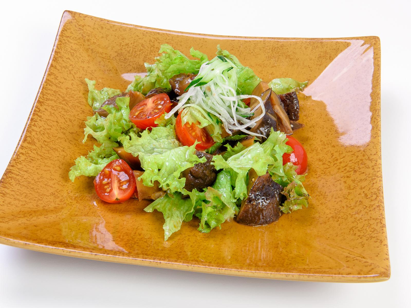 Салат из грибов шиитаке