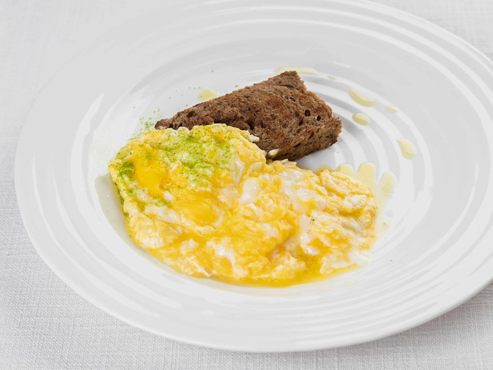 Cкрэмбл из яиц