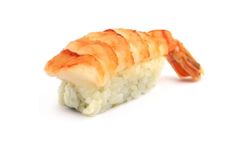 Суши нигири Сливочная креветка