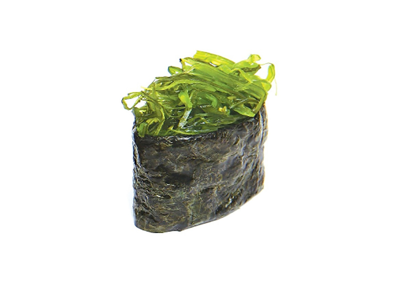 Маринованные водоросли чука