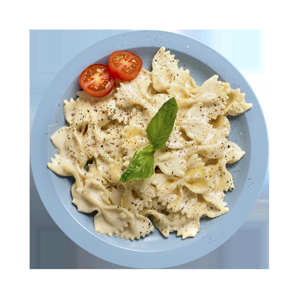 Фарфалле с соусом из сыра горгонзола