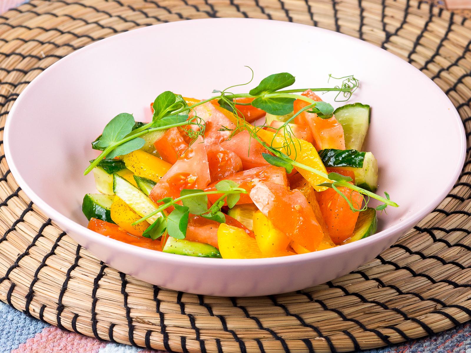 Салат Легкий овощной