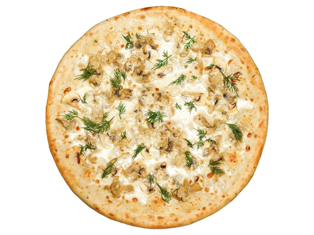 Пицца Жюльен с грибами