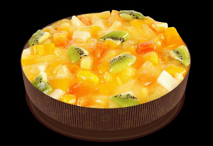 Пирог Йогурт-тропик