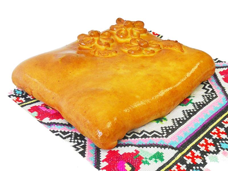 Пирог с мясом и капустой на дрожжевом тесте