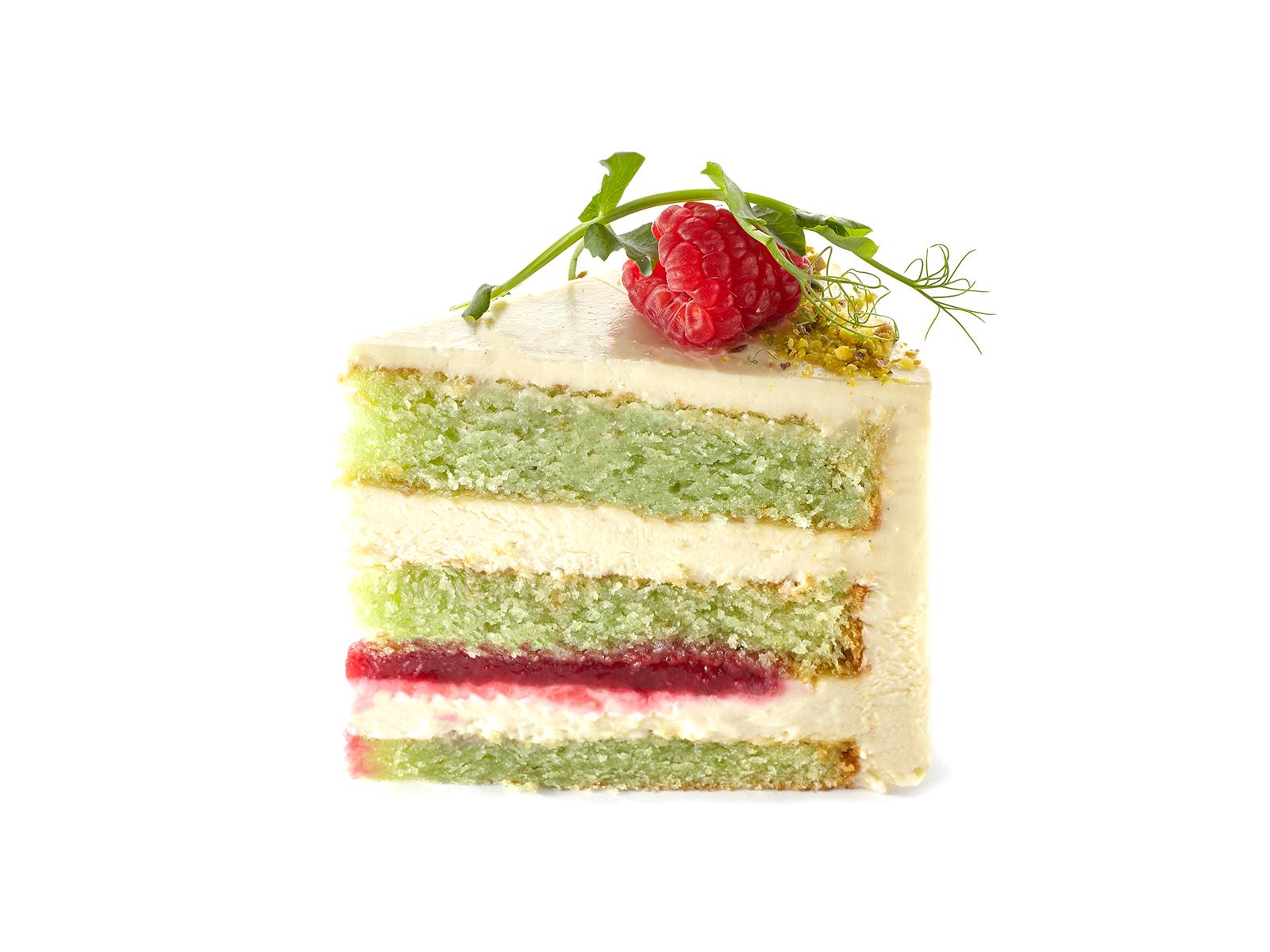 Торт Фисташка/малина