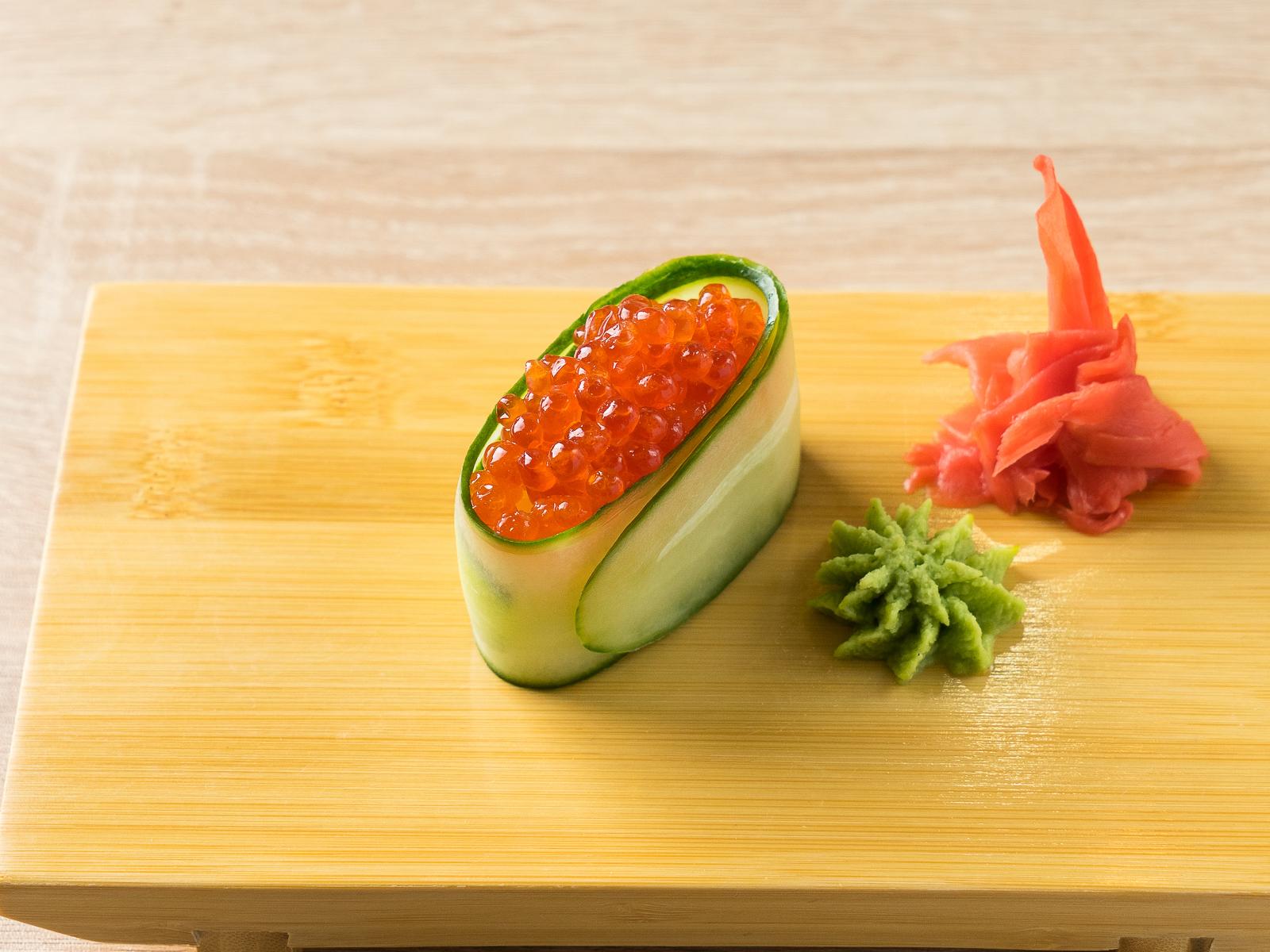 Каппа суши Икра лосося