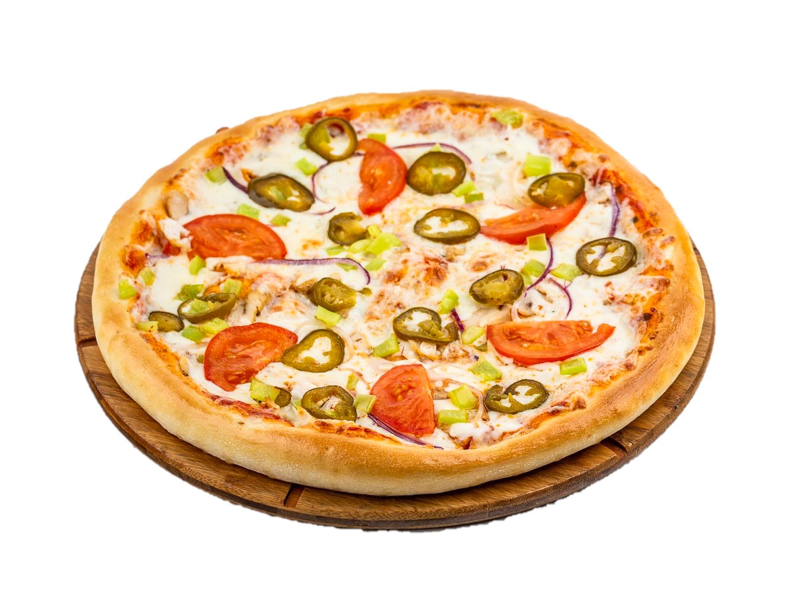 Пицца острая с Халапеньо