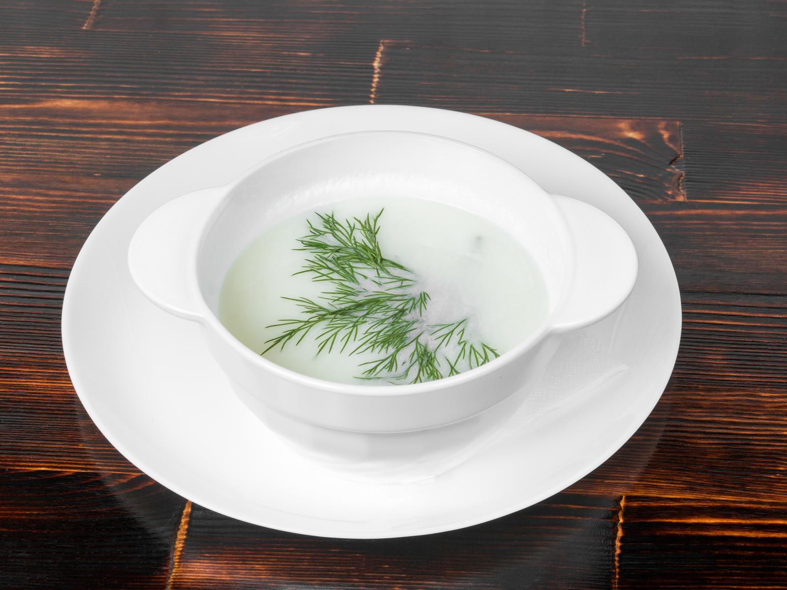 Суп сырный по-французски