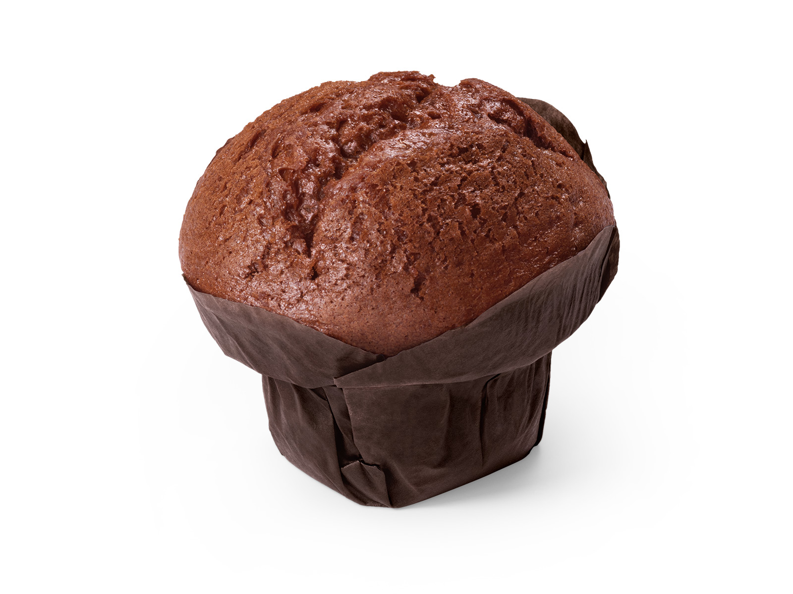 Кекс Маффин шоколадный с черничной начинкой