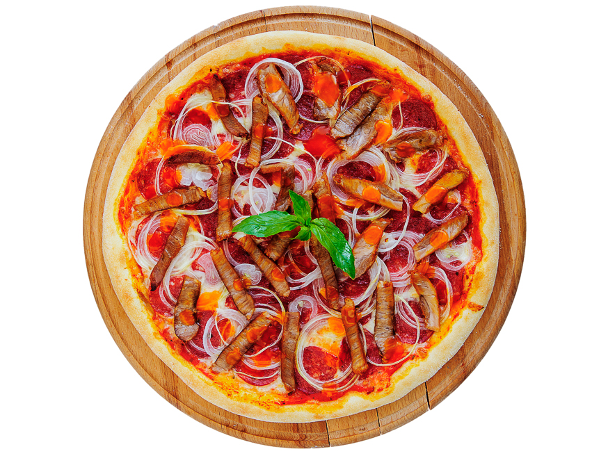 Пицца Мясная де Люкс