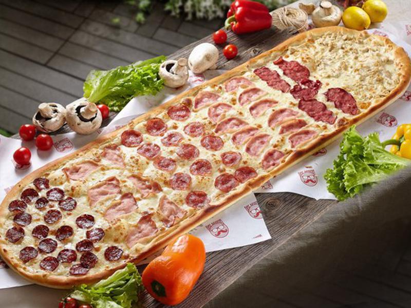 Метровая пицца Хит