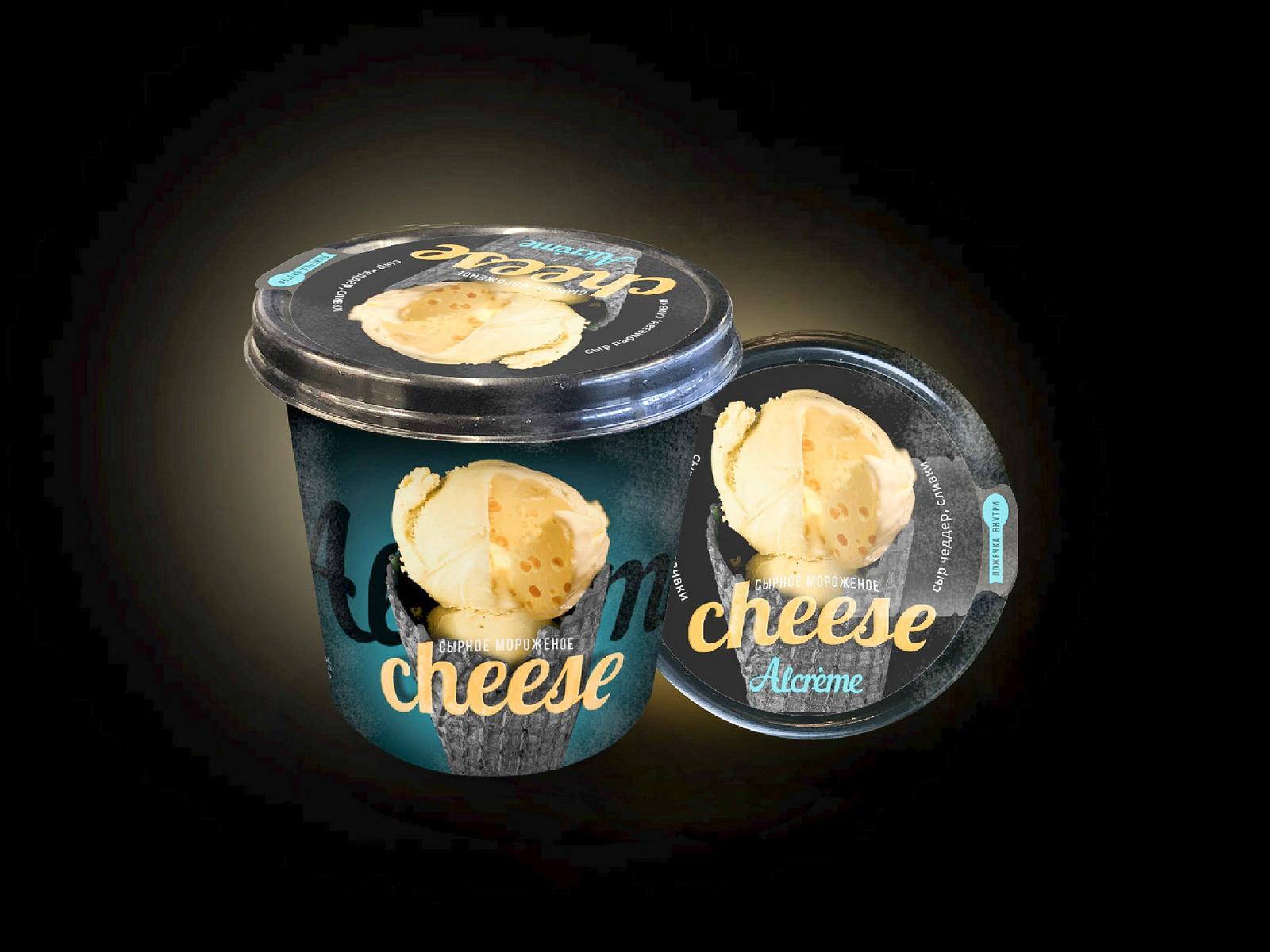Мороженое Сырное