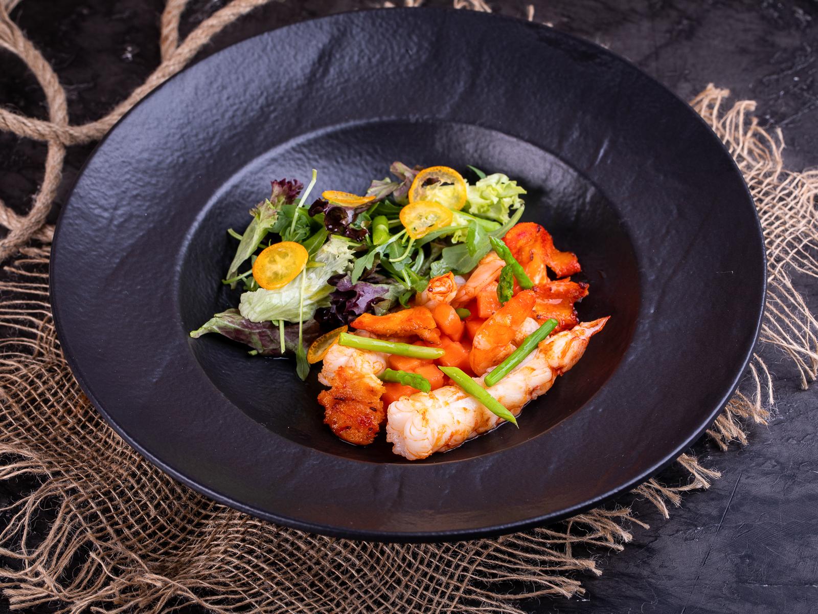 Салат Краб Паб с морепродуктами