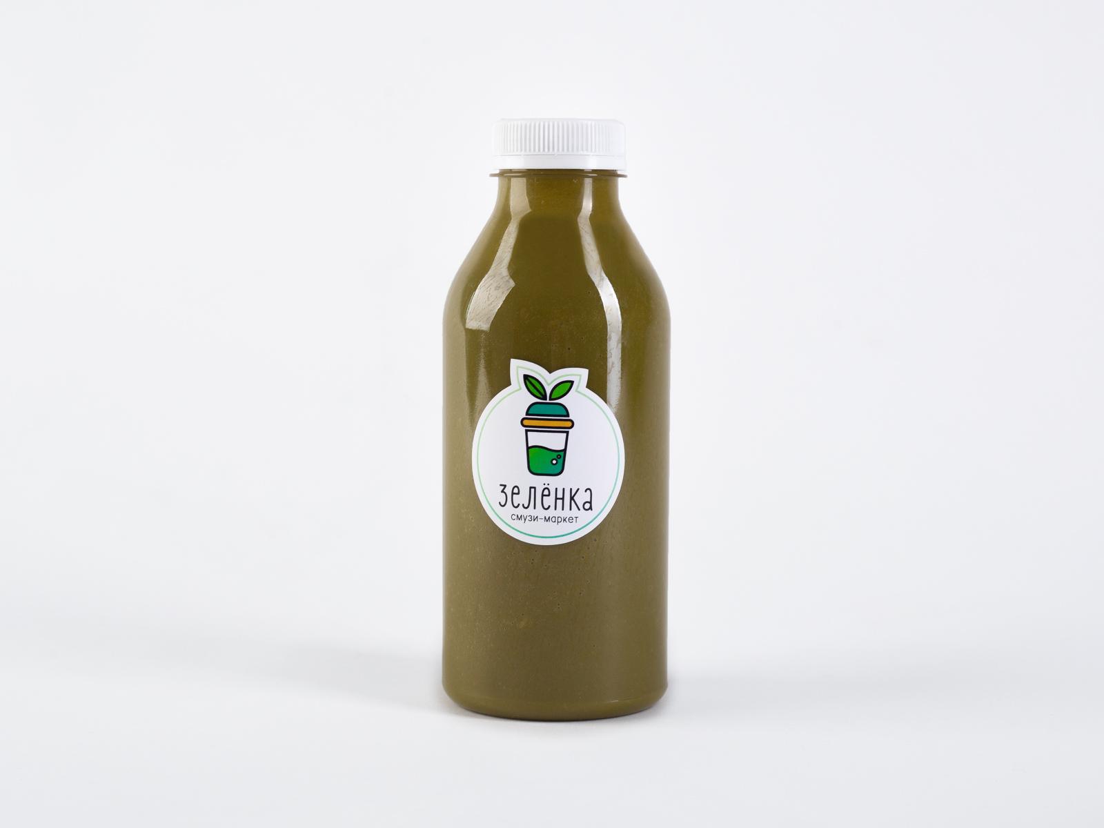 Свежевыжатый Зелёный сок