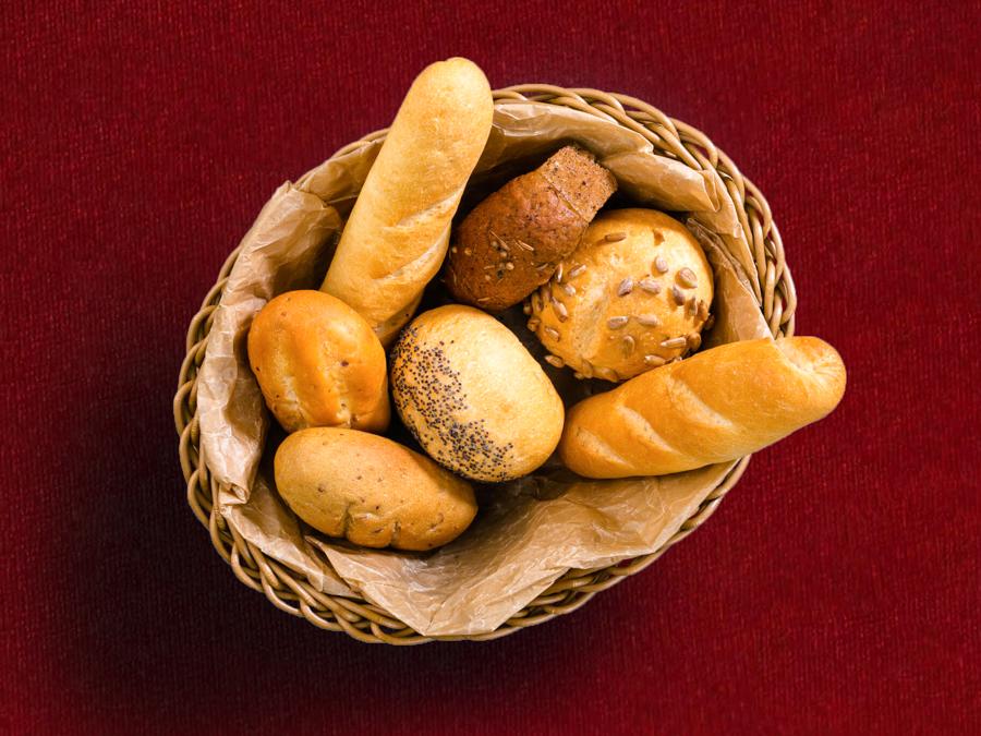 Ассорти из домашнего хлеба