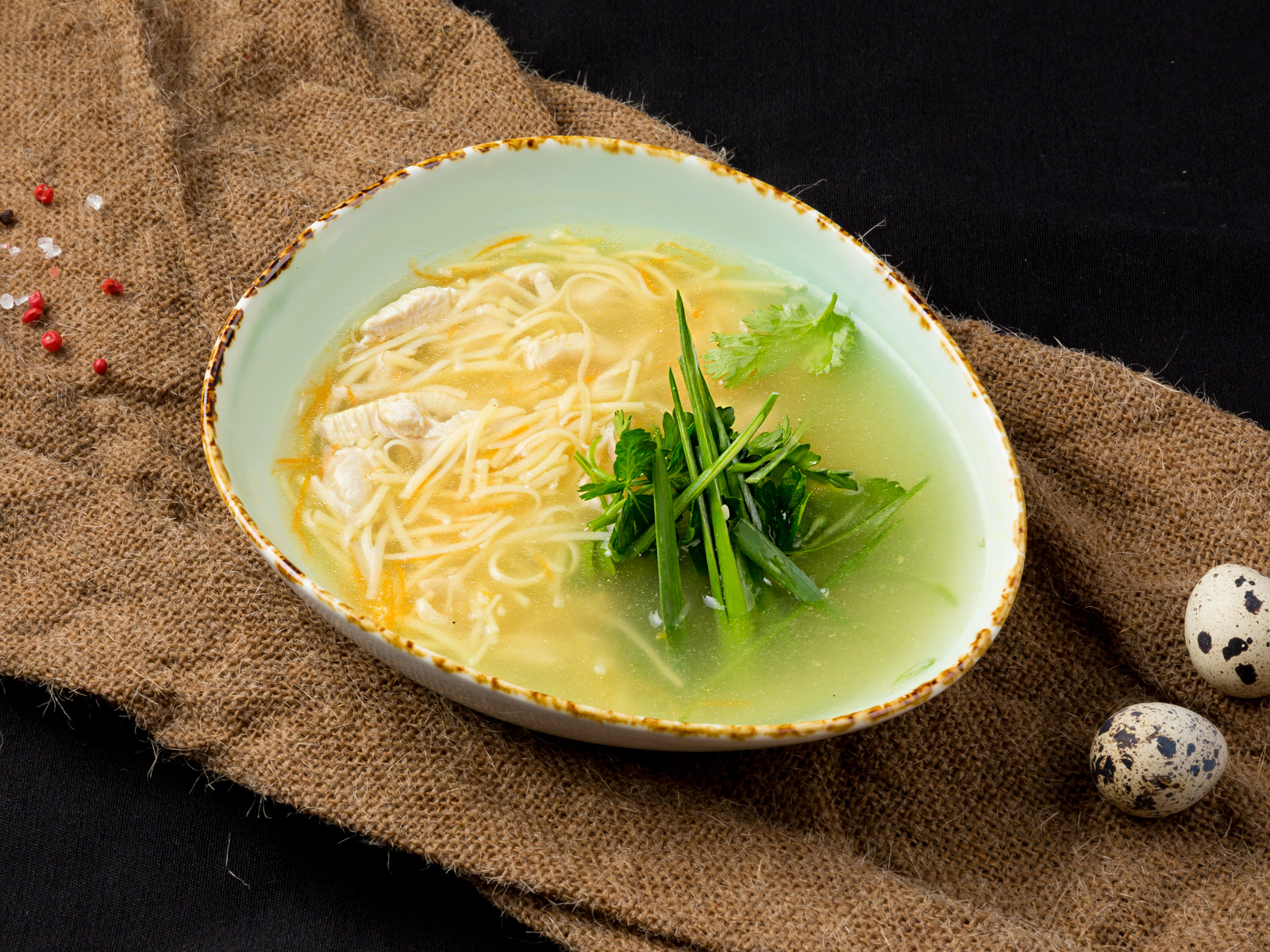 Суп-лапша домашняя