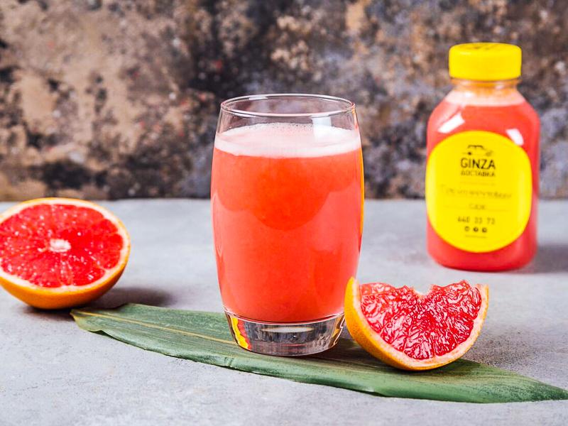 Свежевыжатый сок Грейпфрутовый