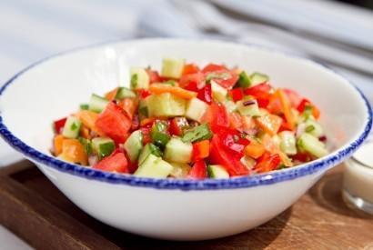 Овощной салат по-еврейски