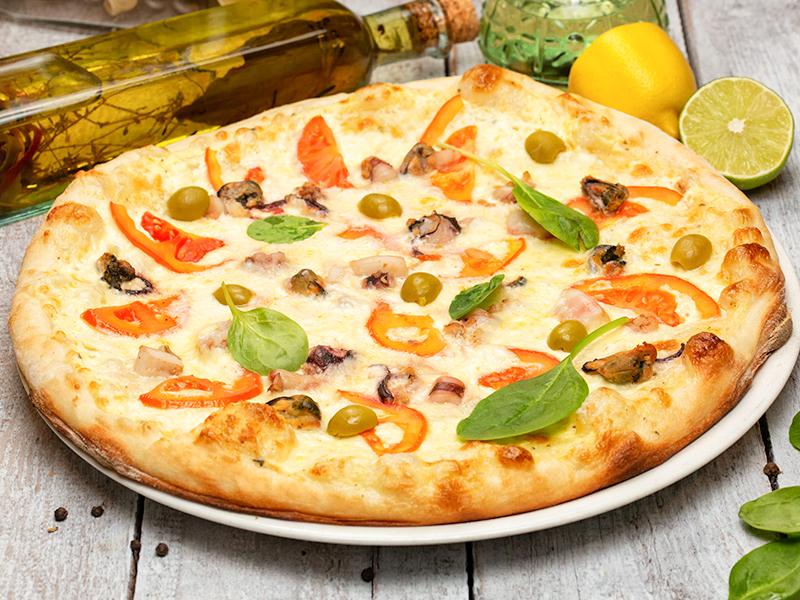 Пицца Морская стихия