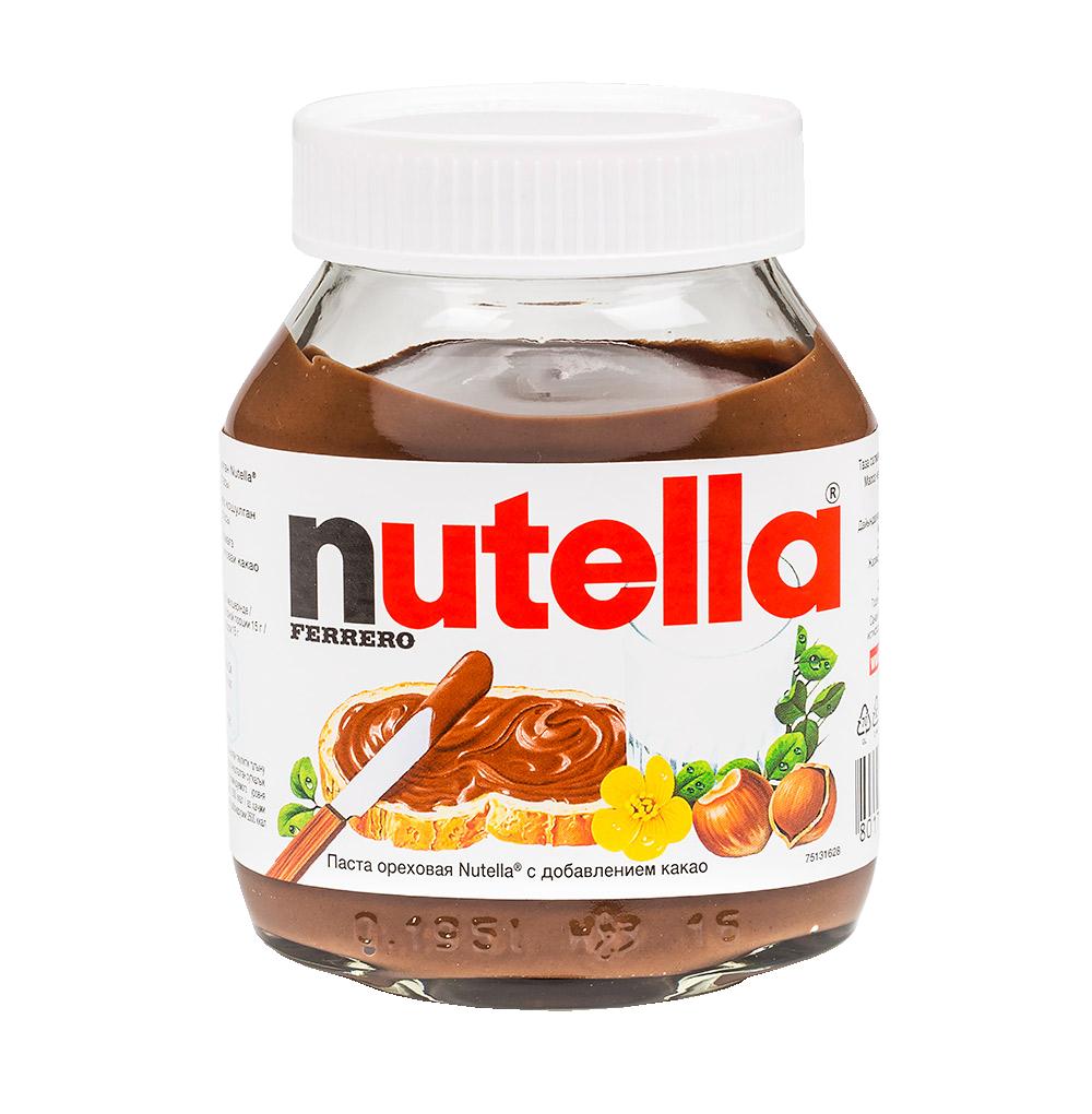 Паста шоколадная Nutella