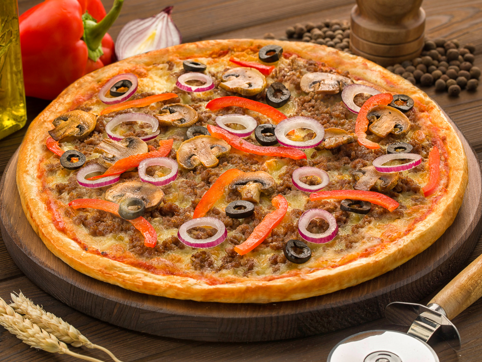 Пицца Блэк Ангус