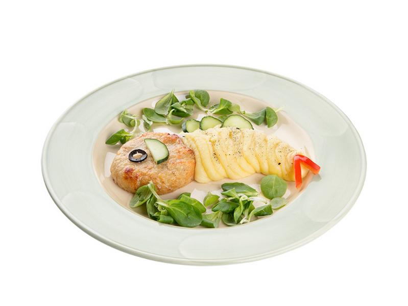Обед Золотая рыбка
