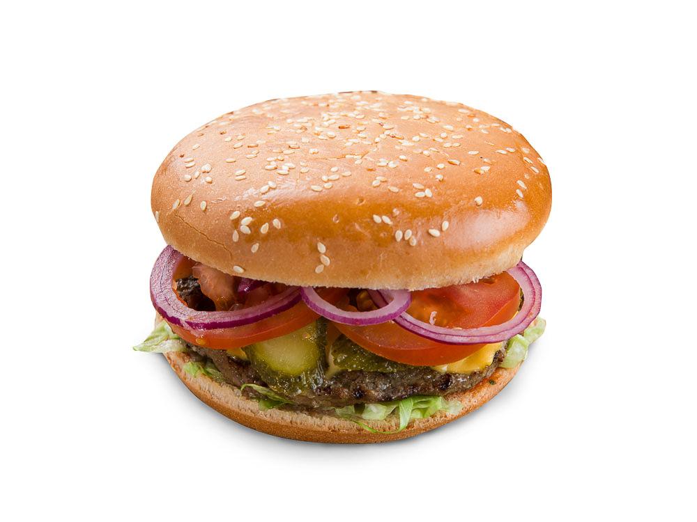 Восточный бургер